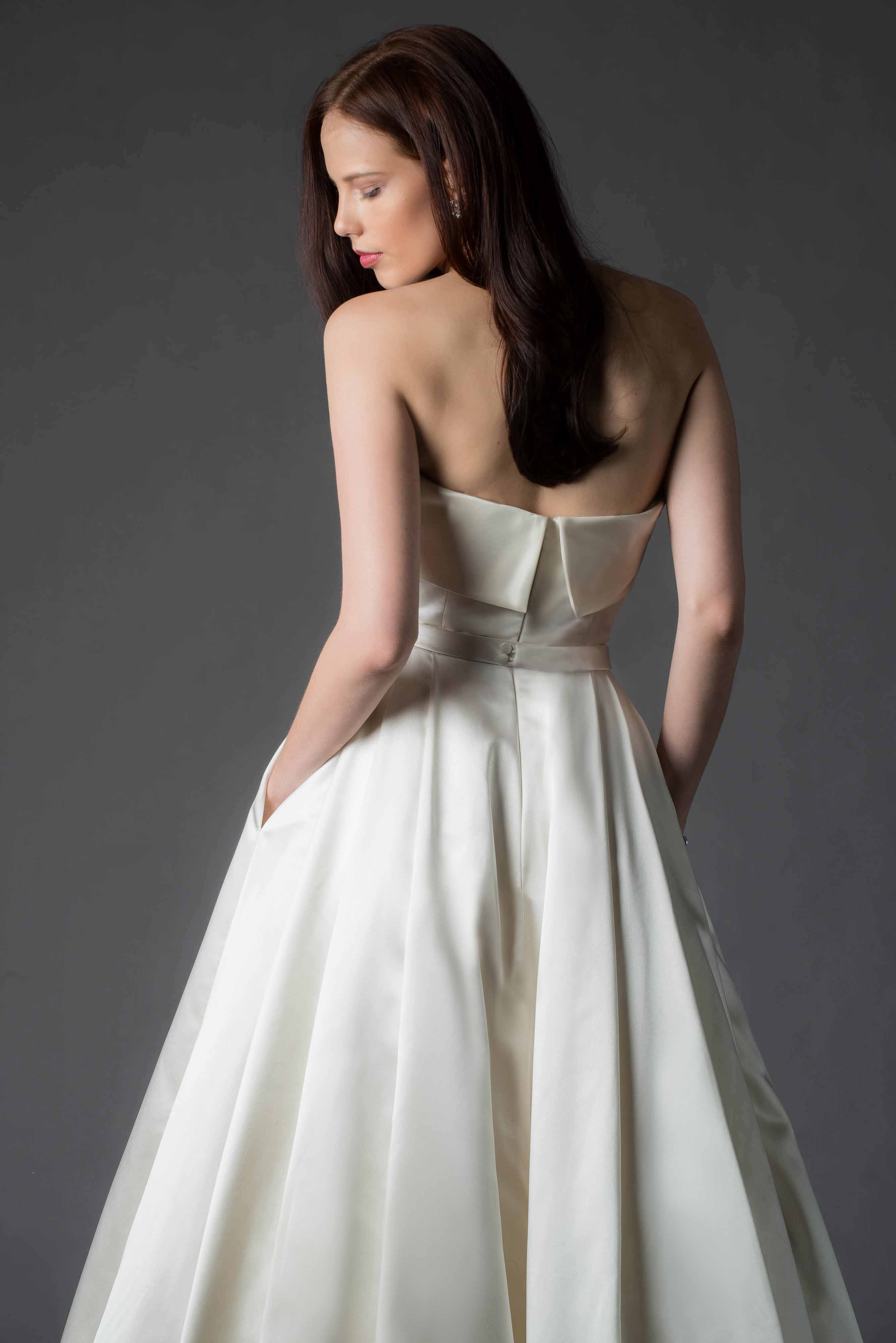 MiaMia - Wedding Dress Orla Back