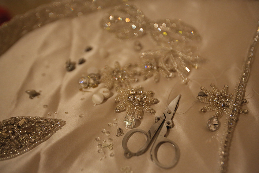 The Bridal Boutique - Wedding Dress Details