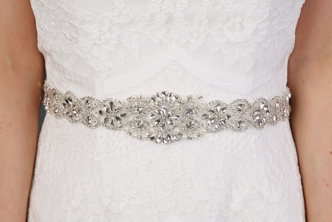 Richard designs belts available at The Bridal Boutique Jersey