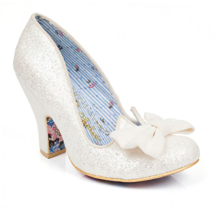 Irregular Choice Nick of Time available at The Bridal Boutique