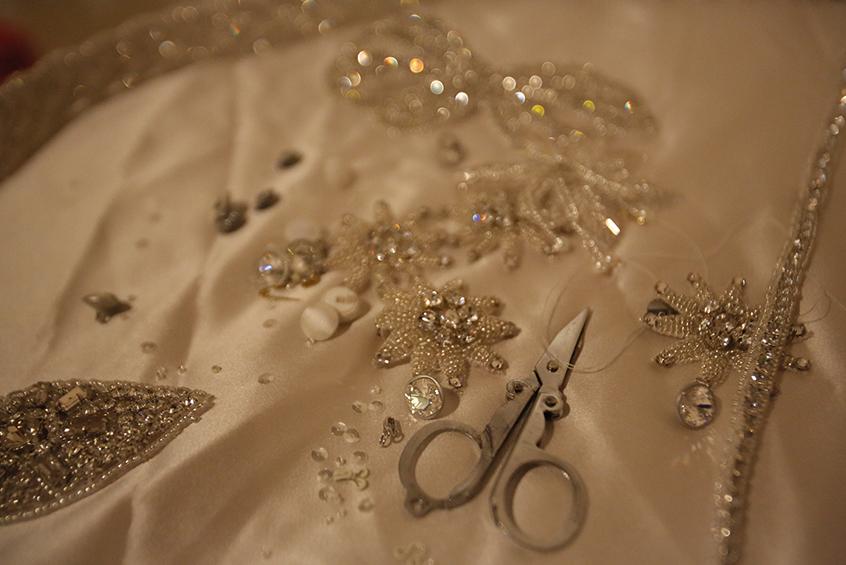 The Bridal Boutique - Wedding Dress Details