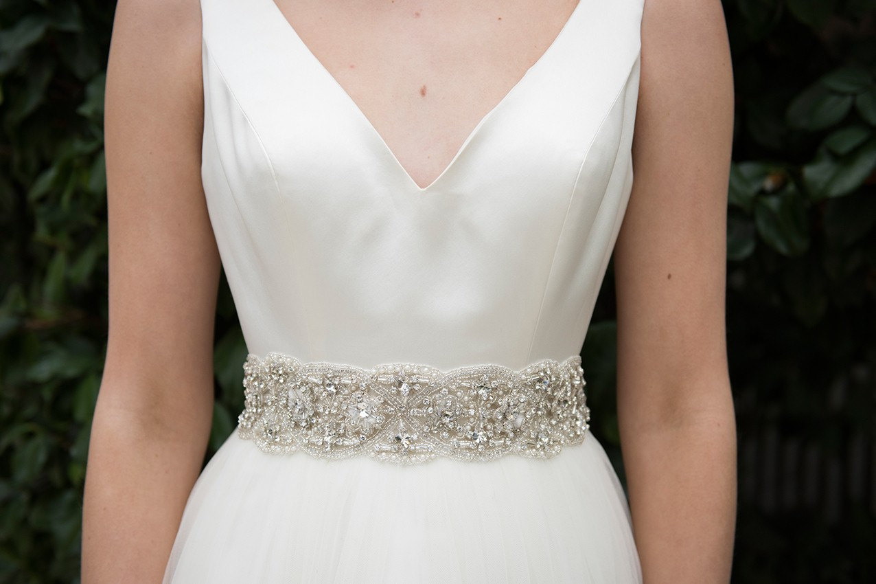 Ivory & Co Belts available at The Bridal Boutique Jersey