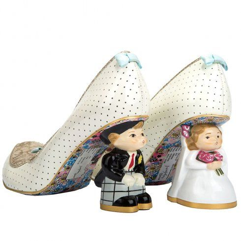 Irregular Choice I Do Shoes available at The Bridal Boutique